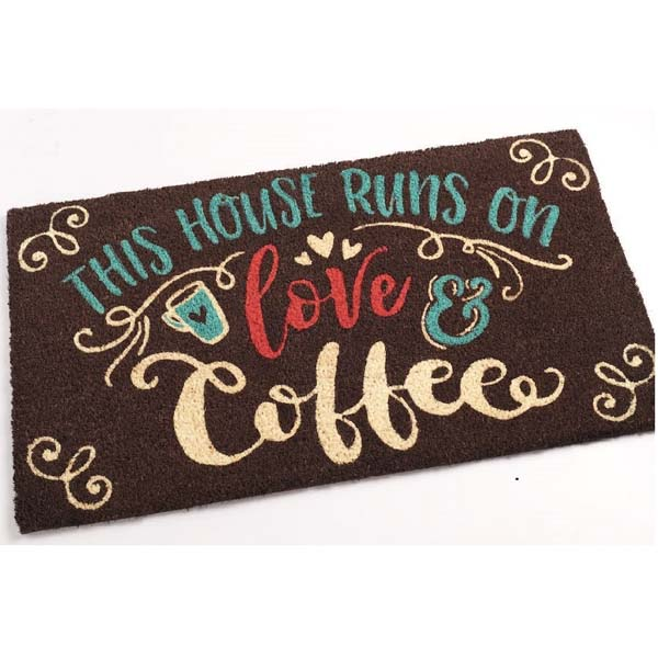 Doormat Love & Coffee