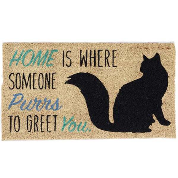 Doormat Home Cat