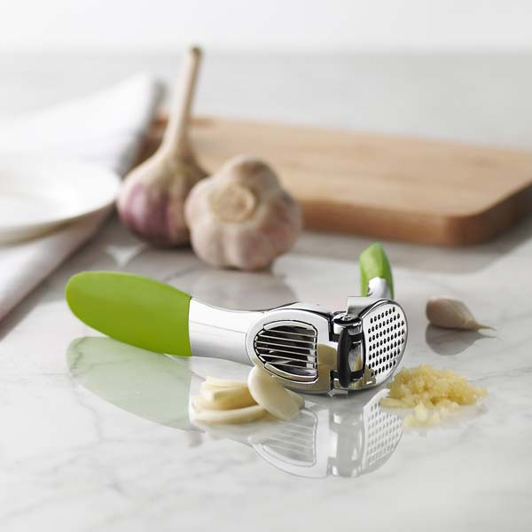 Garlic Press Duo Soft Handle