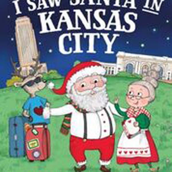 Book I Saw Santa in KC