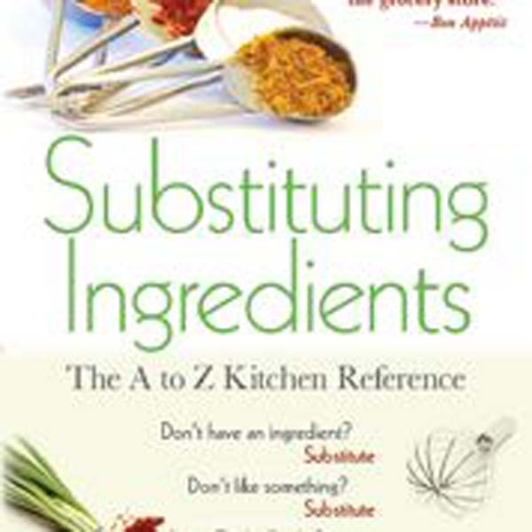 Book Substituting Ingredients
