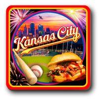 Coaster Magnet Kansas City