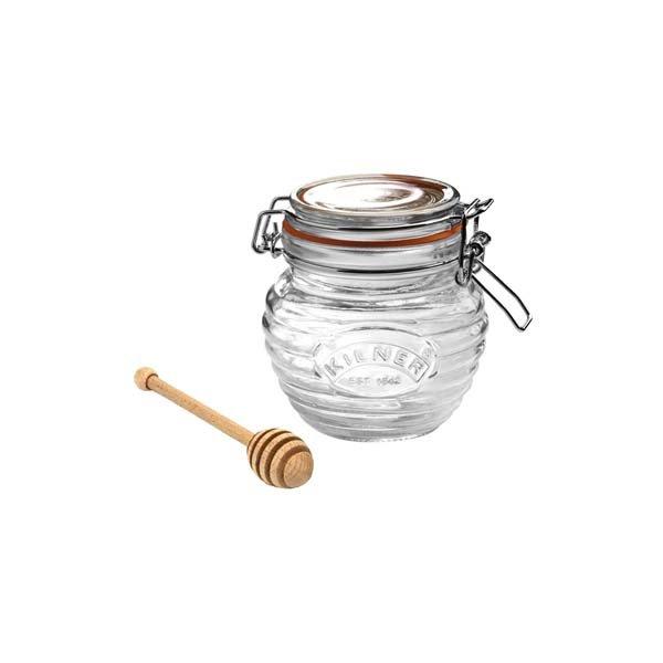 Honey Jar & Dipper