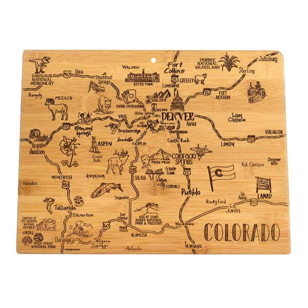 Destination Cutting Board CO