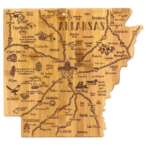 Destination Cutting Board AR