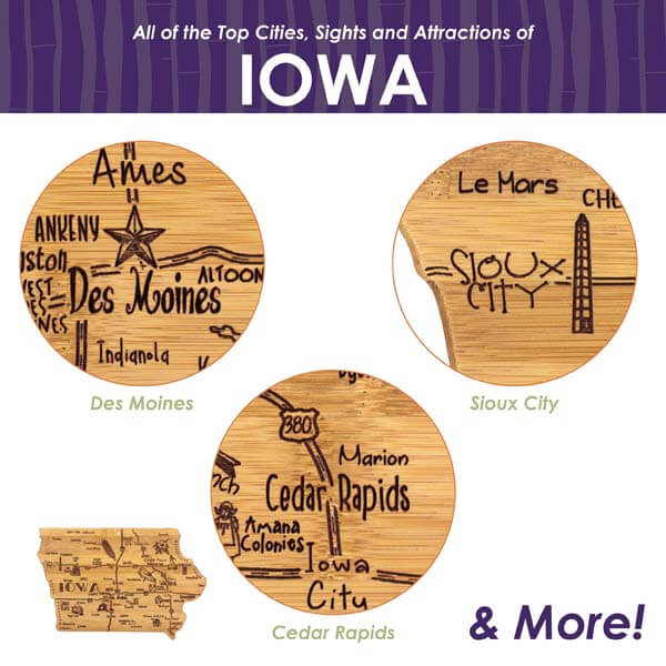 Destination Cutting Board IA