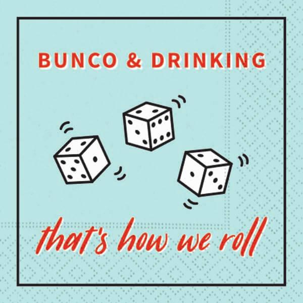 Bunko & Drinking Bar Napkin