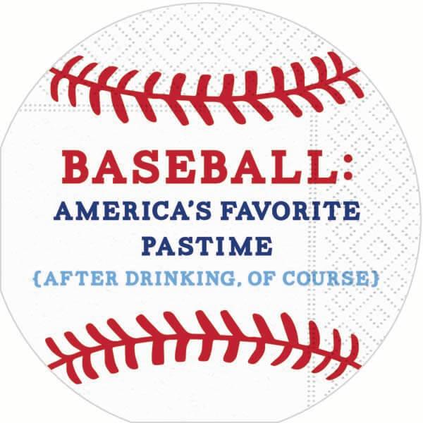 Baseball Bar Napkins