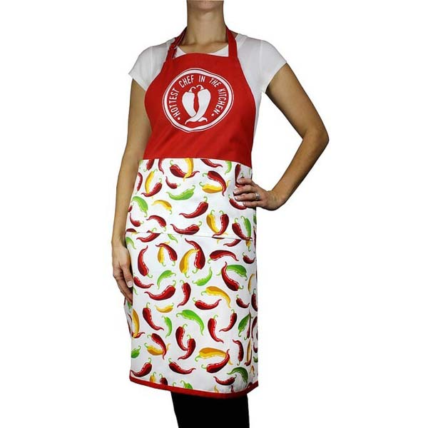 Chili Pepper Kitchen Apron