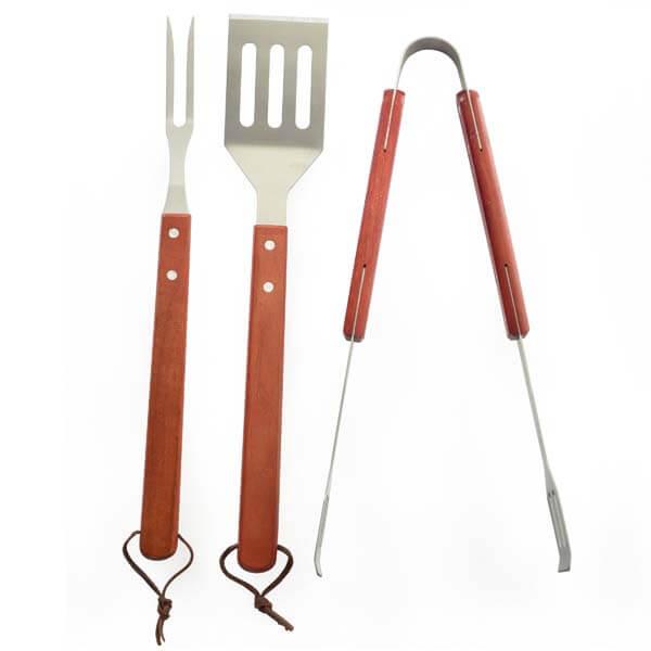 BBQ Grill 3 Pc Tool Set