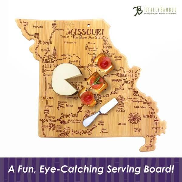 Destination Cutting Board MO