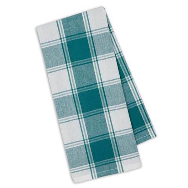 Sea Picnic Plaid Towel