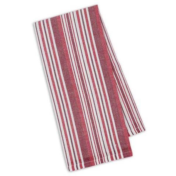 Garnet HerringboneStripe Towel