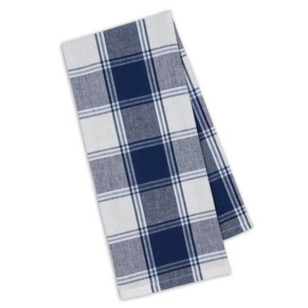 Marine Picnic Plaid Towel
