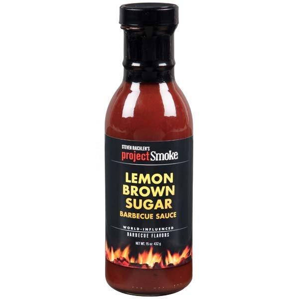Lemon Brown Sugar BBQ Sauce