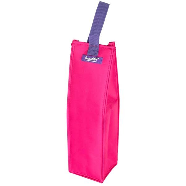 Insulated Wine Tote Bag Pink