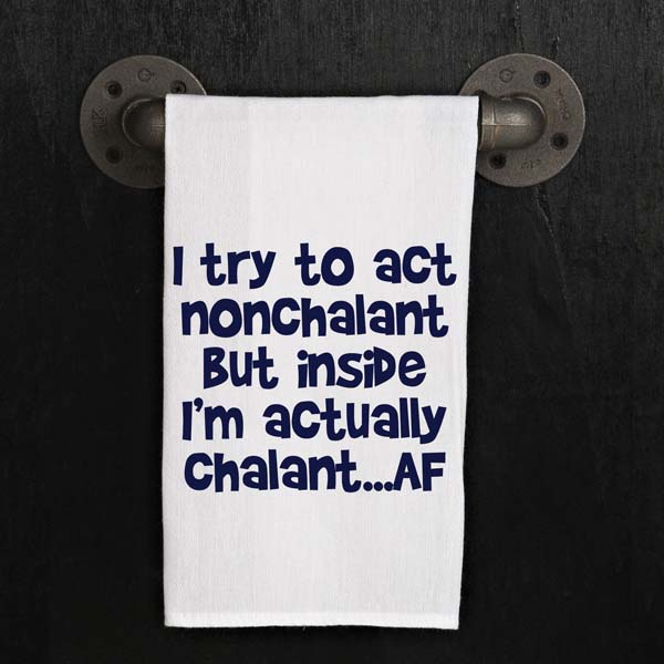 Act Nonchalant Kitchen Towel