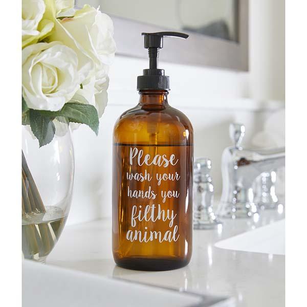 Filthy Animal Soap Bottle