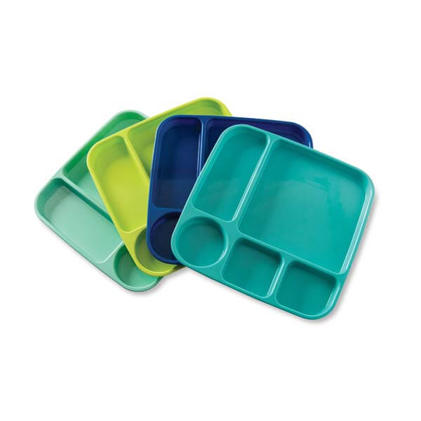 Microwave-safe Meal Trays