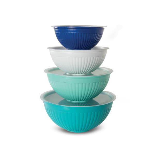 Covered Mixing Bowl Set
