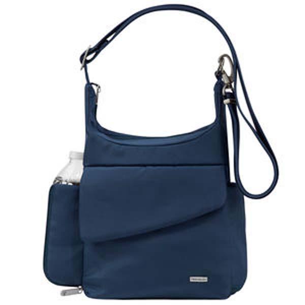 Anti-Theft Messenger Bag Blue