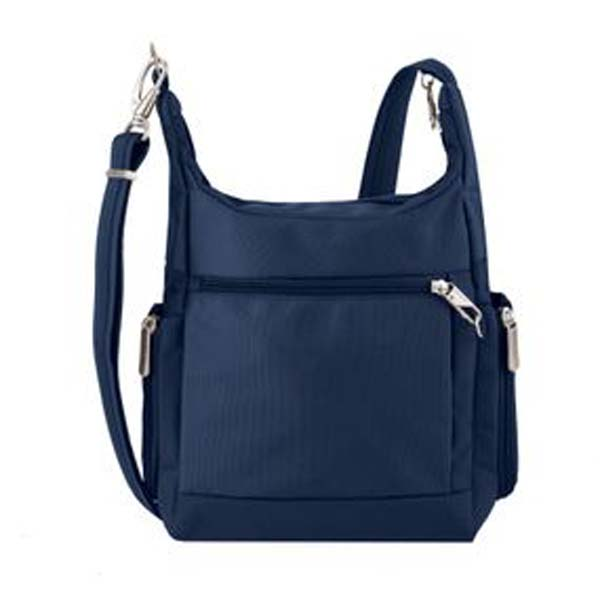 Anti-Theft Messenger Bag Blue