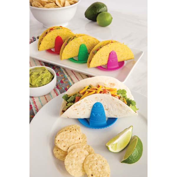 Sombrero Taco Holders Set of 4
