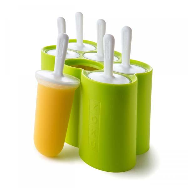 Classic Ice Pop Molds S/6