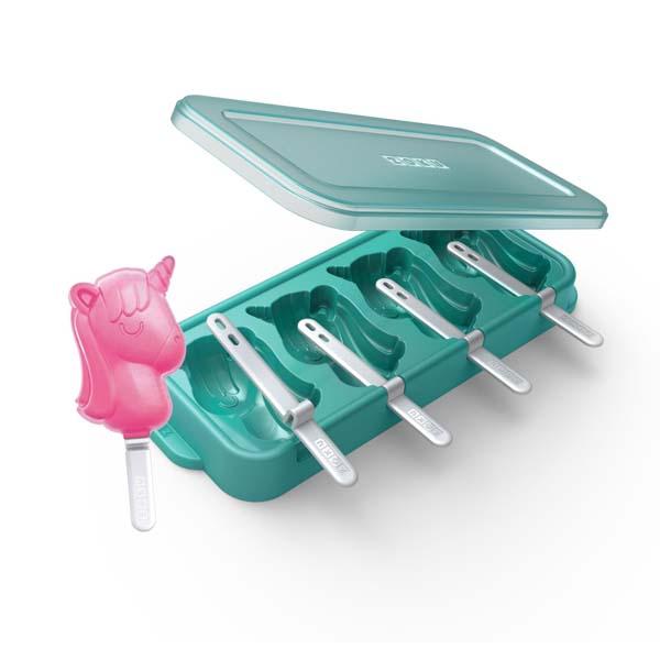 Unicorn Ice Pop Molds S/4