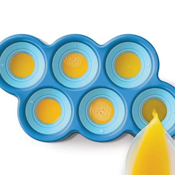 Fish Ice Pop Molds S/6