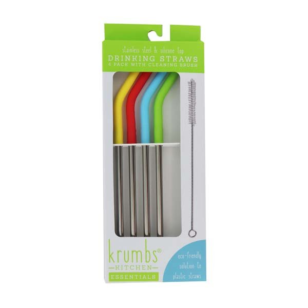 Silicone Tip Drinking Straws