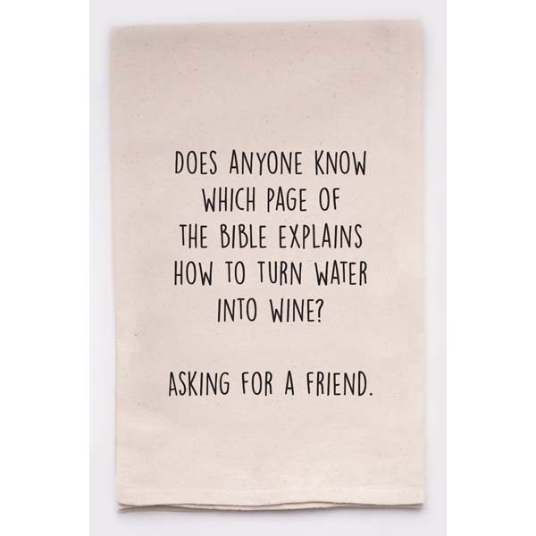 Turn Water Into Wine